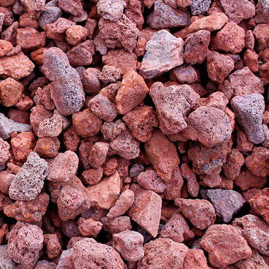 red lava rocks for aquaponics